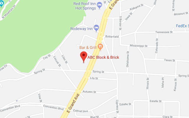ABC Block & Brick - Hot Springs
